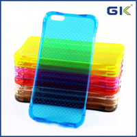 Colorful Mobile Phone Accessory Soft TPU Phone Case for iPhone 6 Plus