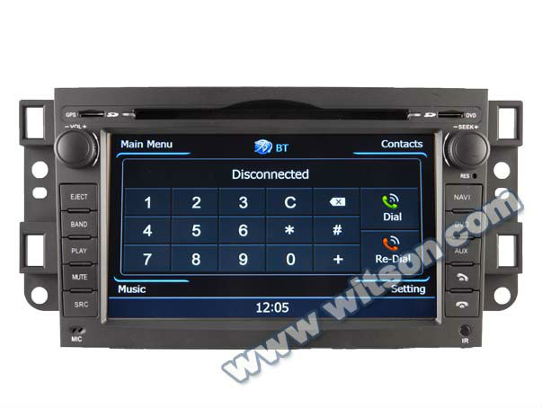 WITSON A8 Chipset CHEVROLET EPICA auto radio car dvd HD 1080P 1G CPU 512M RAM 3G/ wifi/DVR (Option) with touch screen