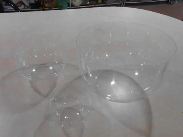 factory hot sales Custom acrylic clear glass dome cover plastic
