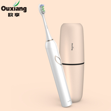 Portable & Rechargeable toothbrush ipx6 sonic electric toothbrush holder easy carry travel electric waterproof toothbrush
