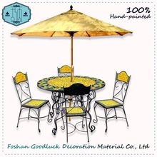 Hand Painted Ceramic Indonesian Alibaba Home Casual Outdoor Furniture