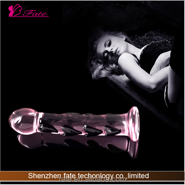 2014 hot sell high quality real feeling large pyrex pistol glass dildo