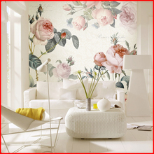Digital Printing Non-woven Paper Flowers Wedding Wall Decorations