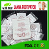 Hot promotional product online green gold bamboo vinegar detox foot patch with private label detox slim patches