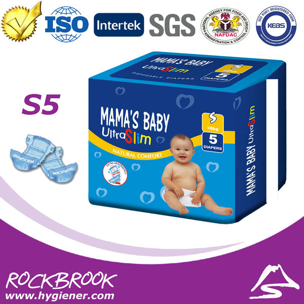 Hot Sale High Quality Competitive Price Disposable Cuddles Diaper Manufacturer from China