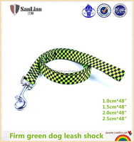 Strong firm dog leash shock chain link leash
