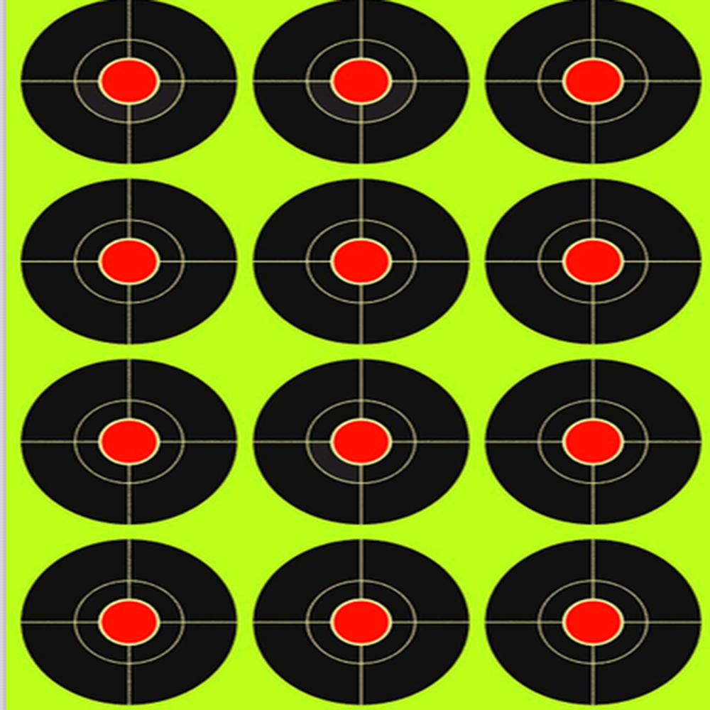 "3"" 250 pcs Target Stickers Self Adhesive Targets for Shooting We Offer the Highest Quality Adhesive Shooting Target"