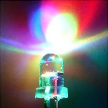 LED 5MM Slow RGB Flash Red Green Blue Rainbow MultiColor Round Strobe Emitting Diodes LEDs Lamp LIGHT