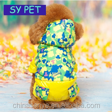 Pet dog clothes fall and winter clothing cotton padded clothes clothing puppy thickened winter