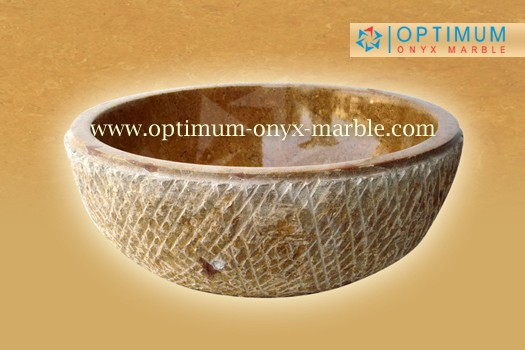 INDUS GOLD MARBLE SINK - 010