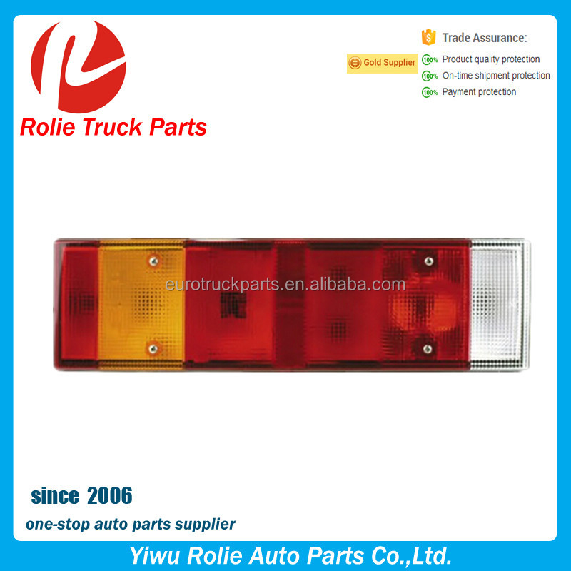 RH:1304788 1284212 1291215 Heavy Duty DAF XF95 CF85 truck body parts truck right combination led tail lamp