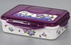 Chinese food grade plastic lunch box food container