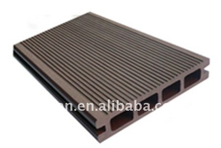 WPC/PE RAW Profiles/ Material/DECKING