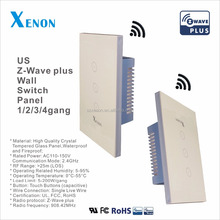 Xenon Z-Wave wall switch socket light wall switch socket light walls switches lights wireless smart home automation wifi control
