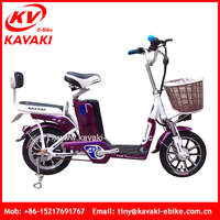 Kavaki 2016 New Design For Lady Used Light Weight Mini Flexible Lithium Bike Bicycle City Transporter