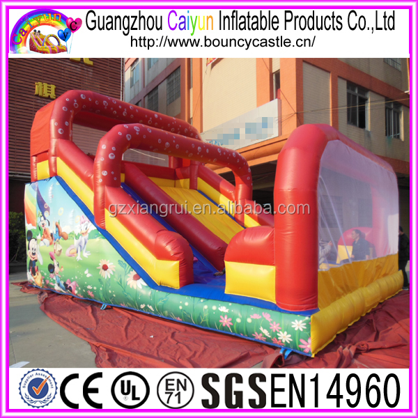 Mickey&Minie design inflatable slide for sale