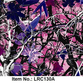 camouflage water transfer printing film, hydrographic film, hydro dipping film No. LRC130A