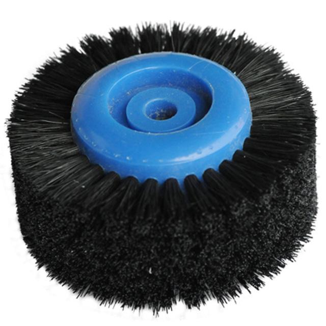Goxawee 6*40*66 Rotary Tool Accessories Polishing Wheel Stright 6 Rows Brush Polishing Wheel