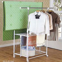 Wire clothes drying rack