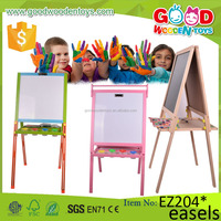 2017 New Design Multifunctional Whiteboard for Children Portable Easel Art Drawing Board Toy Set Wooden Educational Kids Easel