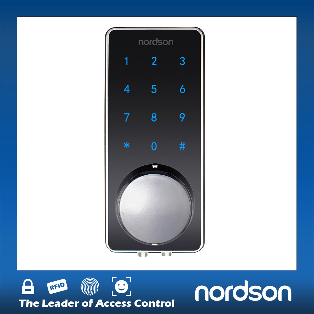 Electronic Touch Screen Keypad Cell Phone Hotel Card Door Lock