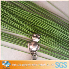 craft flower stem wire/paper covered floral stem wire in craft/cake decorate green wire