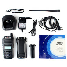 High power 10W Baofeng UV-82 Dual Band Two Way Radio VHF UHF Digital Walkie Talkie with Big Capacity and battery save