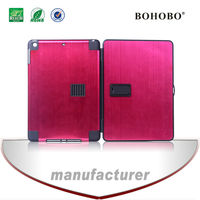Pc+aluminum trolley cover/case for ipad air ipad5