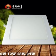Professional Office12W Recessed Flat Round LED Panel Ceiling Lights With Competitive LED Panel Light Price