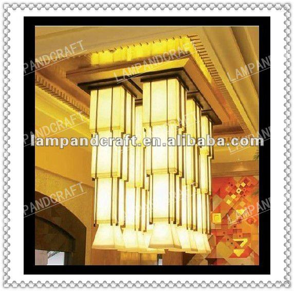 2014 Five Star Hotel marble hanging lamp