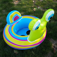 Animal Inflatable Baby Swimming Seat inflaable swim ring with baby seat Water Sport Swiming Ring 58511 In Stock