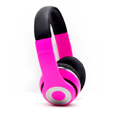 Promotional gift wholesale price water drop wired stereo headphone with MIC