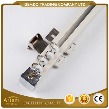 Best sale mordern custom curtain rail aluminium for linear track