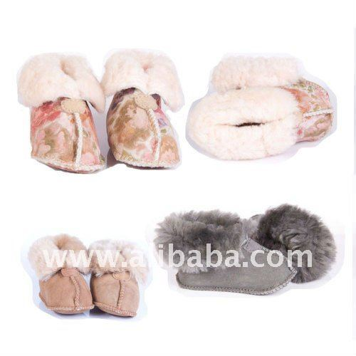 NEW baby 100% Australian Sheepskin Slippers boots