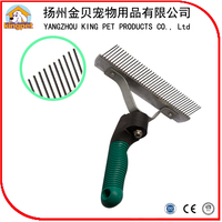 Grooming slicker product metal pins pet brush for dog cleaning