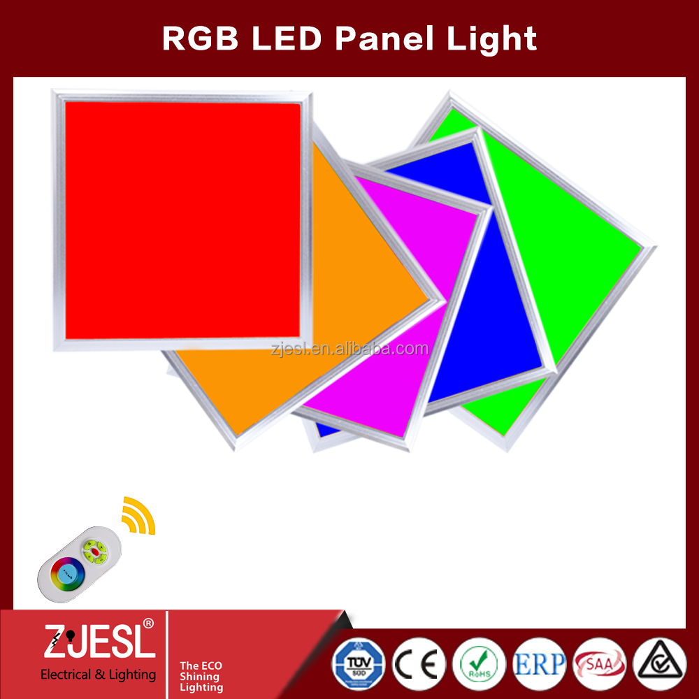 3 years warranty for projector 60*60cm 40W LED RGB Panel Lighting