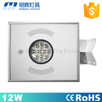Alibaba Hot sale 12w solar power street <strong>light</strong> for outdoor street garden lighting