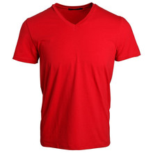 garment buyer in usa customised 180 gram t shirts for men 100% cotton red plain tee wholesale china men's clothing