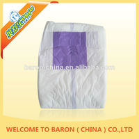 2014 new arrival best absorbent lady diaper