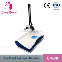 Latest technology CO2 fractional laser equipment , laser co2 fractional for wrinkle removal