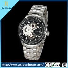 New vogue chronograph fashionable Japanese-quartz movement high quality cool watch