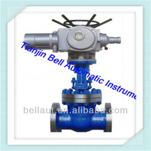 Three way electric water and steam flow control valve for cement, medical use