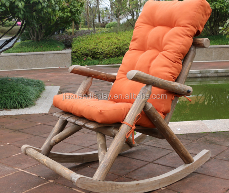 Bentwood relaxing rocking leisure chair with 4cm cushion