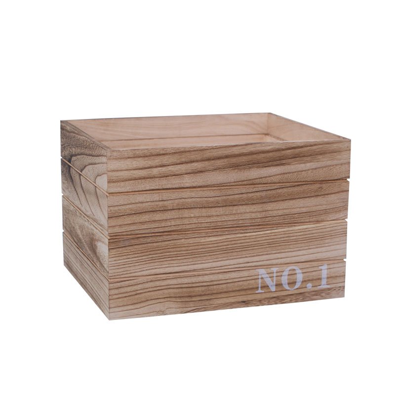 High grade wooden crate box for packing usage