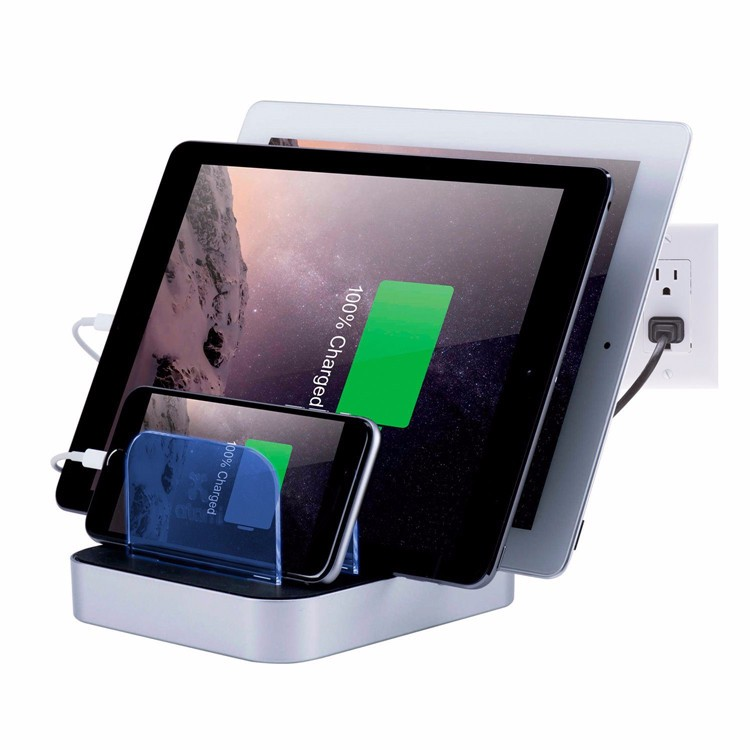 housing design 5 port usb charger cell phone charging station usb travel charger