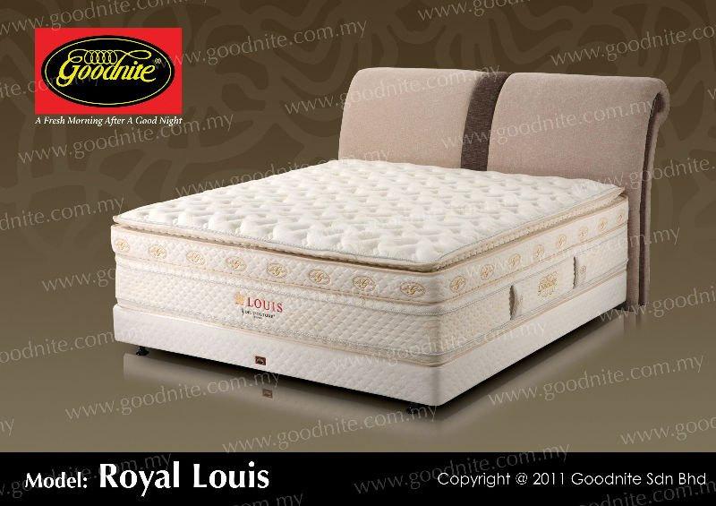 Royal Louis Pocket Spring Mattress