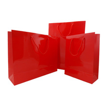 luxyry design paper bag paper christmas gift bag manufacturing companies
