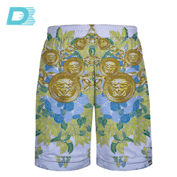 Latest Design Quick Dry Sublimation Breathable Durable Rugby League Playing Customized Training Shorts