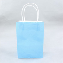 Recyclable art papaer material paper carrier bag