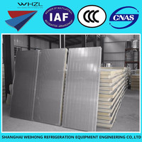 High Quality Insulated PU Sandwich Panels For Cold Room Roof & Wall